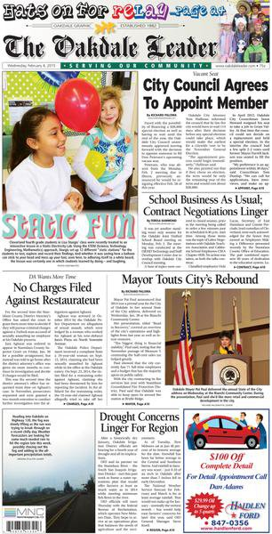 Oakdale subscribe paper