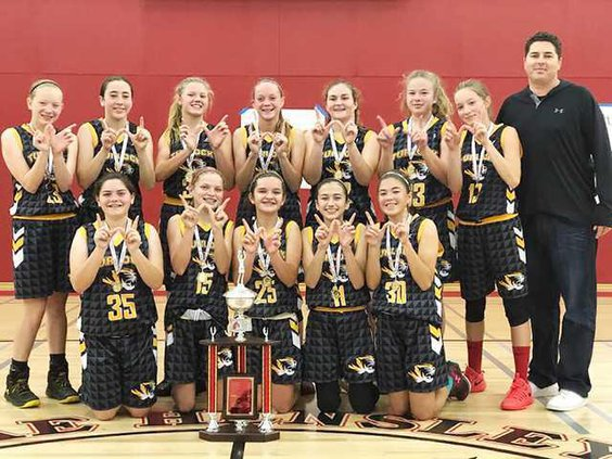 Turlock Jr. High girls basketball