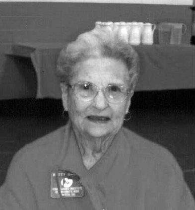 Betty Garcia obit