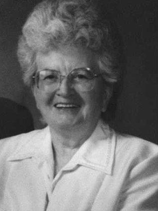 Velma Vanderostyne BW