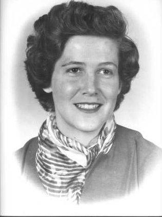 Martha Peters BW