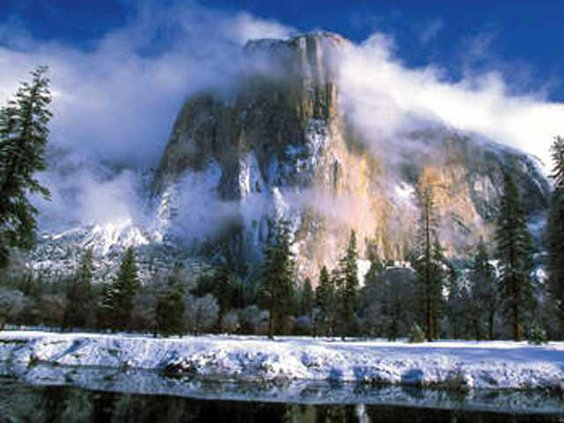 half-dome winter-1