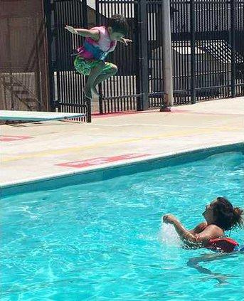 summer camp swim pic