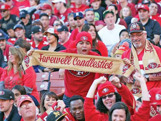 49ers-Candlestick pic 1