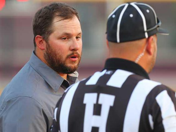 FB--WR coach resigns file pic