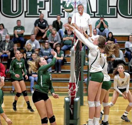 MHS VBALL GIRLS PLAYOFFS PLACER4 11-3-17
