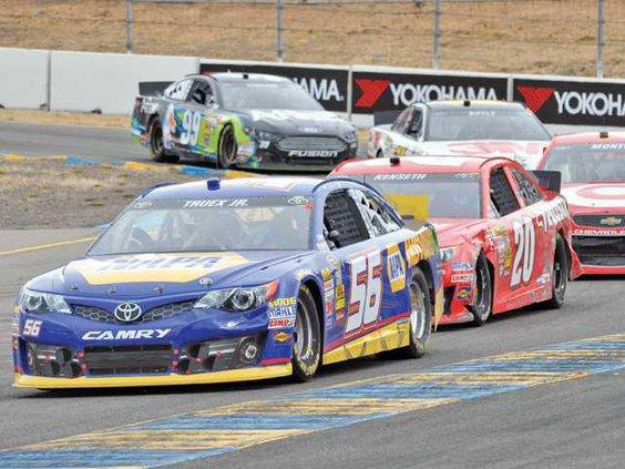 NASCAR-Sonoma file pic