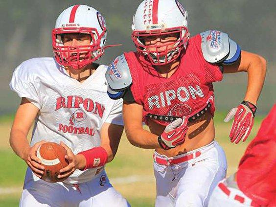 Ripon Lathrop-football-pic