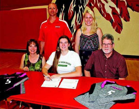 VB--Carlson signing pic