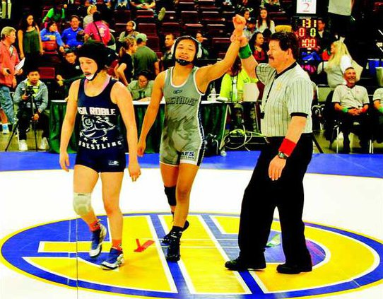 WRES--Girls State-Cortez pic