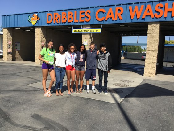 Dribbles splits car wash proceeds with MUSD sports, PE programs