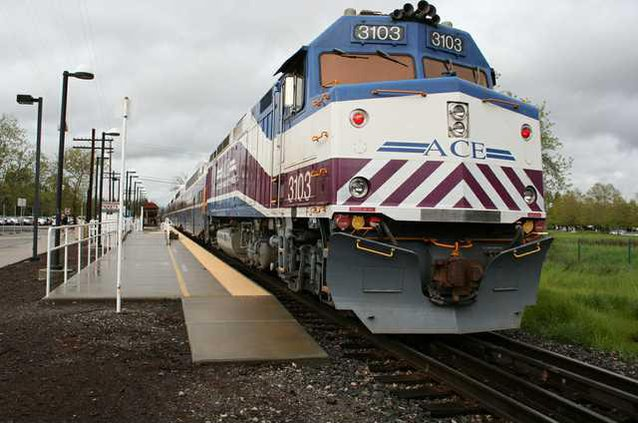ACE Train Pleasanton