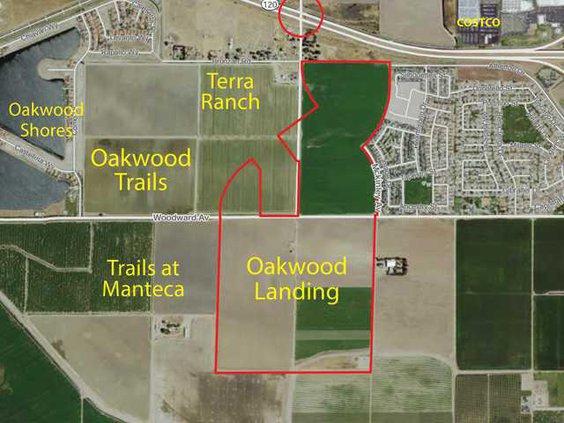 OAKWOOD MAP