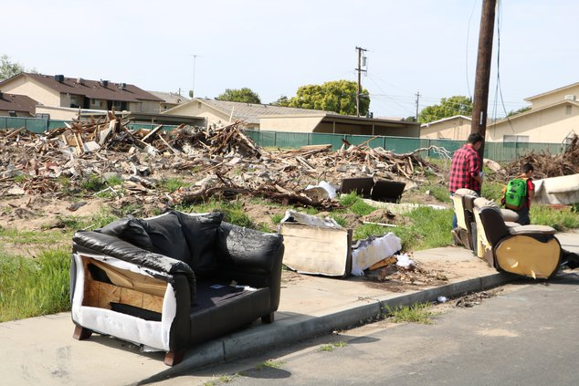 Lincoln Street clean up