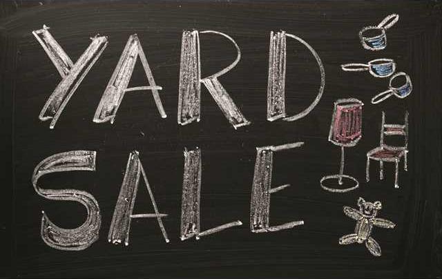 Yard Sale pix