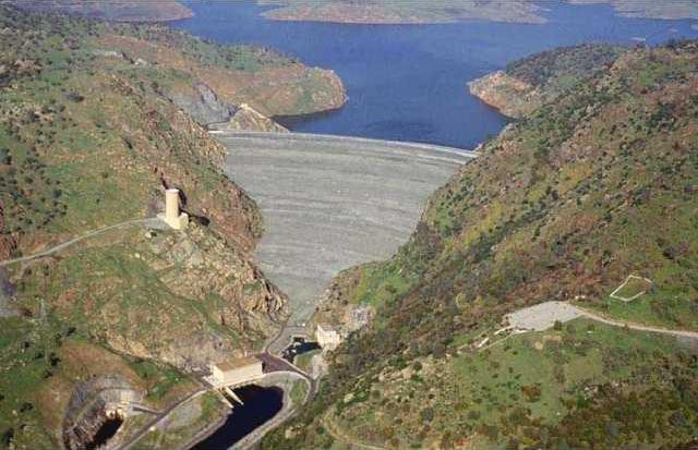 newmelones dam