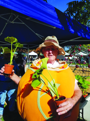 Sunrise Kiwanis roll out pumpkin growing contest