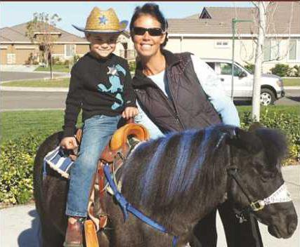 HORSE TRAINER KRISTINA ALEXANDER AND STUDENT copy