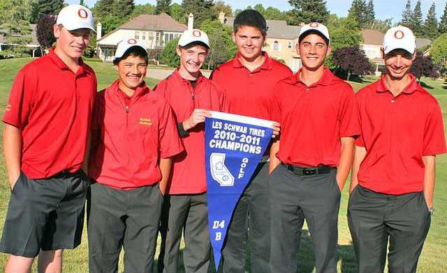 5-11 OAK Golf team