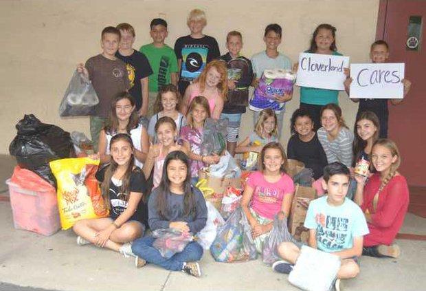 cloverland donation