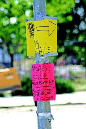 illegal signage