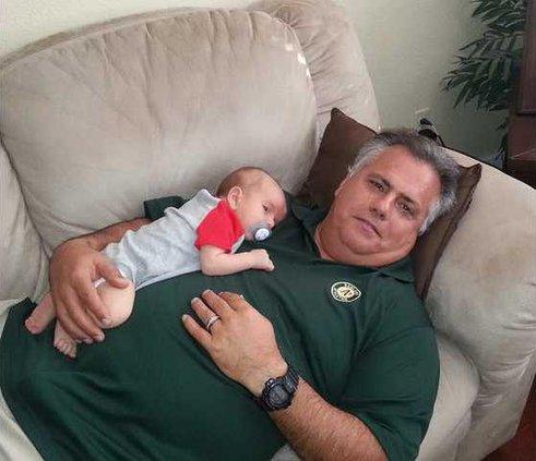 Grayson and Papa