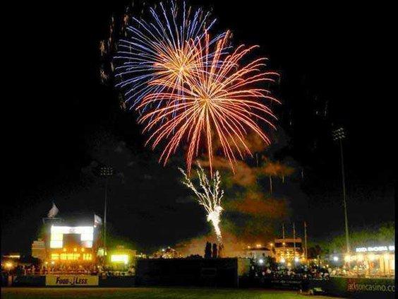 stockton fireworks