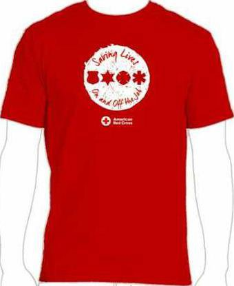 Blood Drive T shirt pix