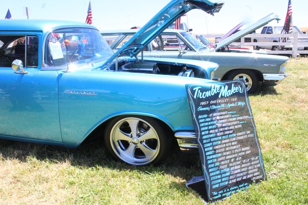 Picture Perfect Day For Ferry's Classic Car Show