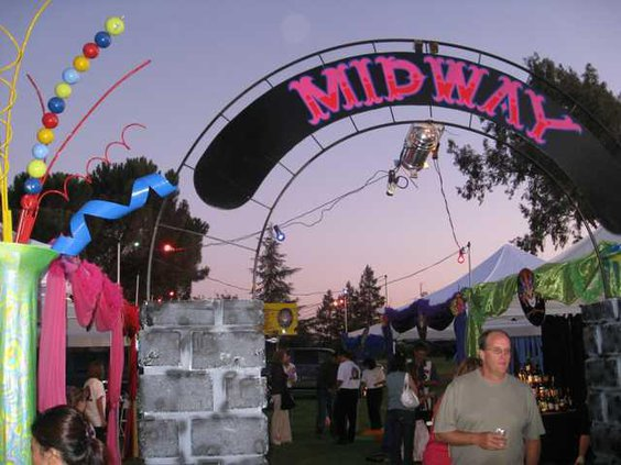Midway entrance