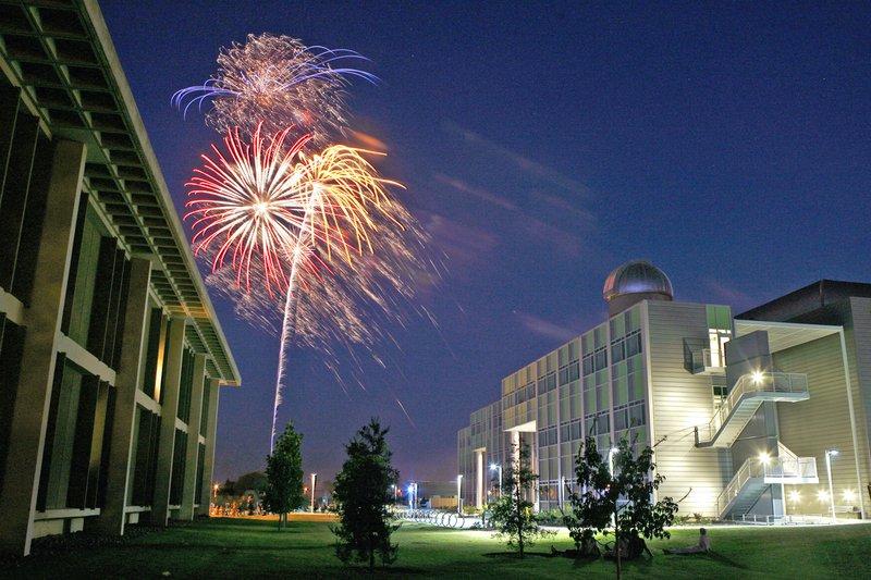 Stan State fireworks