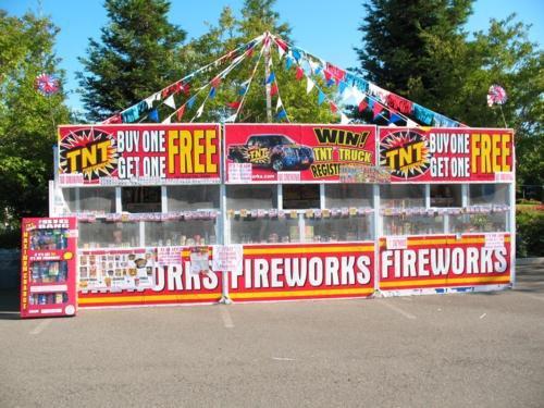 fireworks stand