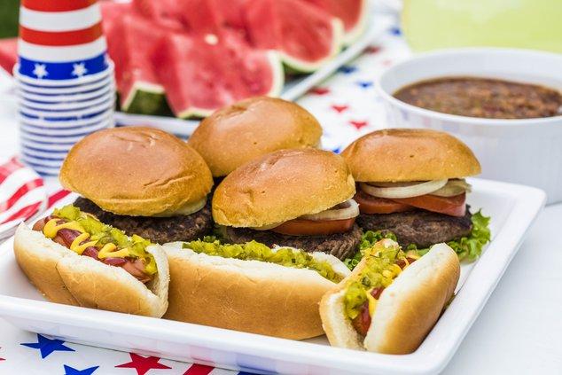 July Fourth Food