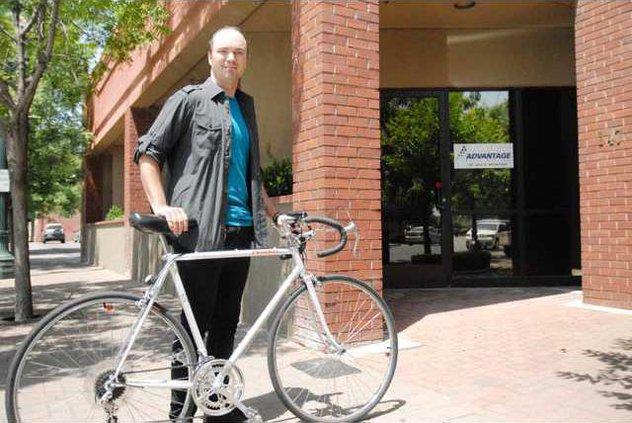 bike to work pic