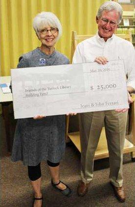 ferrari library donation pic