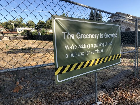 The Greenery expansion