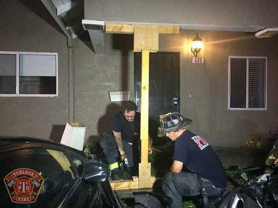 porch damage