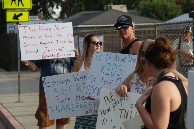 Little league protests pic2