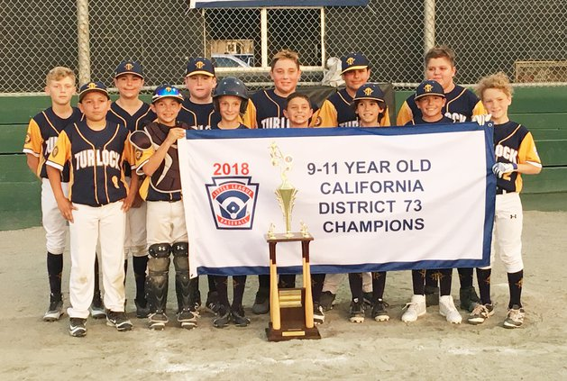 Turlock American 11s district champs