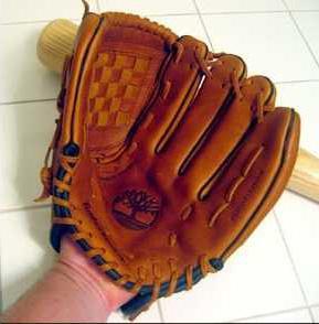 Baseball glove front