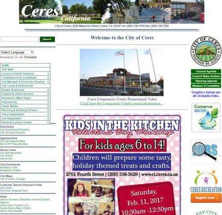 City website