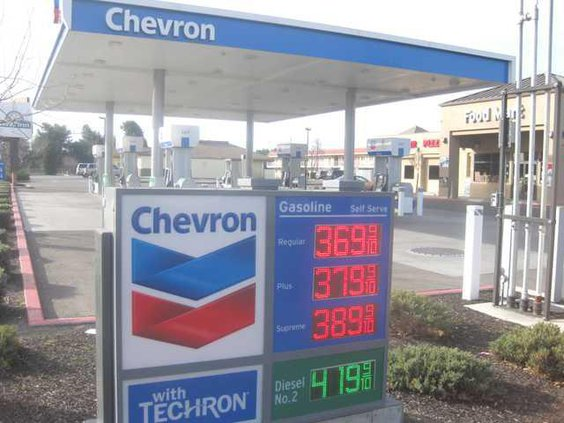 Gas prices in Turlock