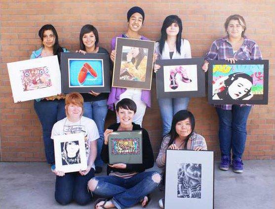 HS art show pic