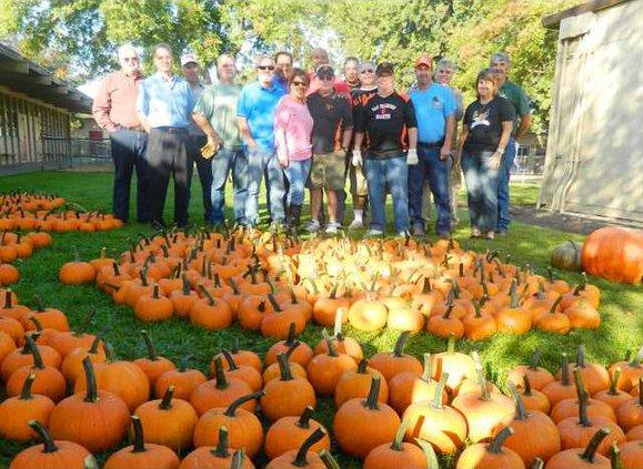 Kiwanis pumpkins