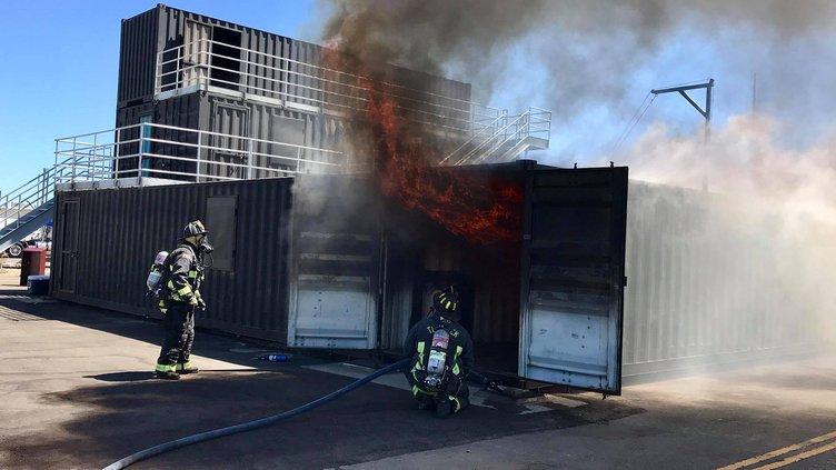 Turlock fire training center