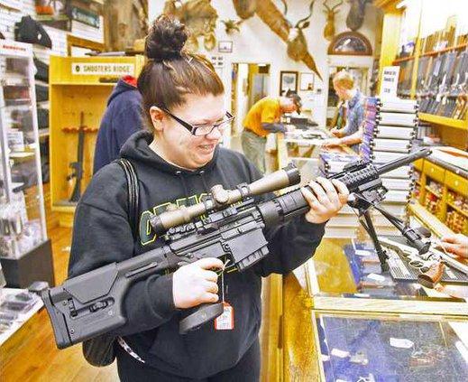 gun sales pic