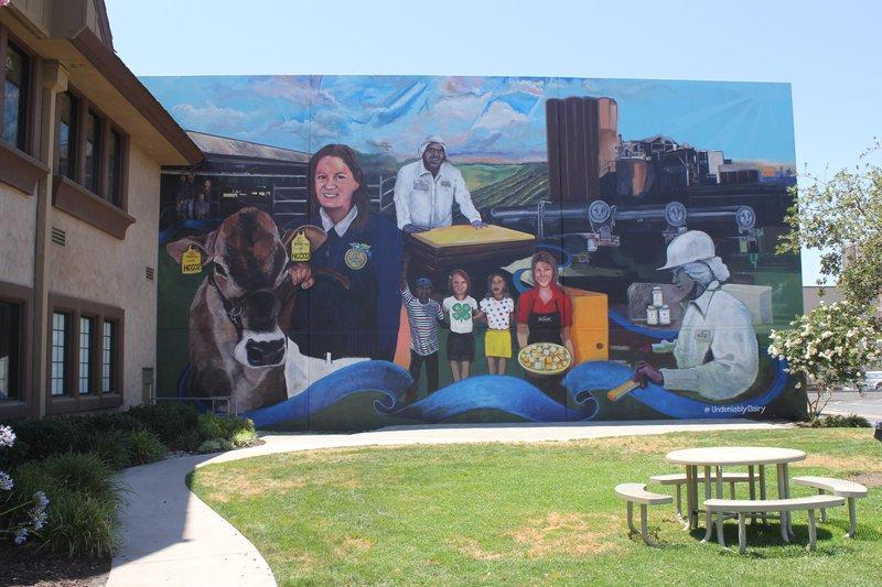 hilmar cheese mural pic2