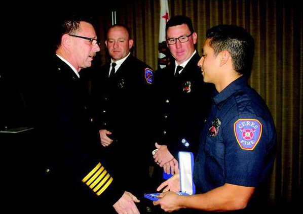 Fire honorees