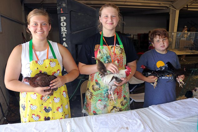 Ceres 4H chicken group