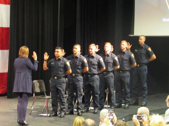 firefighter graduation